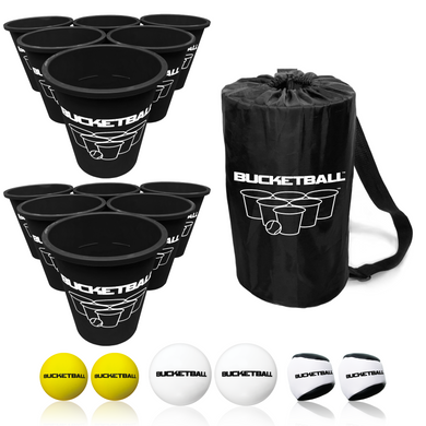 BucketBall - Team Color Edition - Combo Pack (Black/Black) - BucketBall