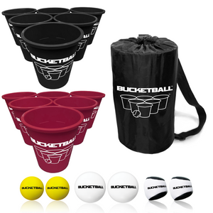 BucketBall - Team Color Edition - Combo Pack (Black/Maroon) - BucketBall