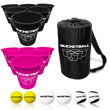 BucketBall - Team Color Edition - Combo Pack (Black/Pink) - BucketBall