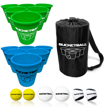 BucketBall - Team Color Edition - Combo Pack (Green/Light Blue) - BucketBall