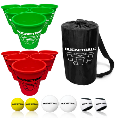 BucketBall - Team Color Edition - Combo Pack (Green/Red) - BucketBall