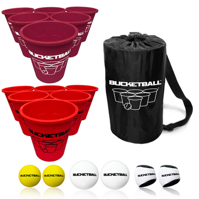 BucketBall - Team Color Edition - Combo Pack (Maroon/Red) - BucketBall