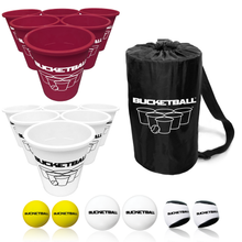BucketBall - Team Color Edition - Combo Pack (Maroon/White)