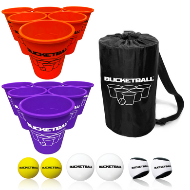 BucketBall - Team Color Edition - Combo Pack (Orange/Purple) - BucketBall
