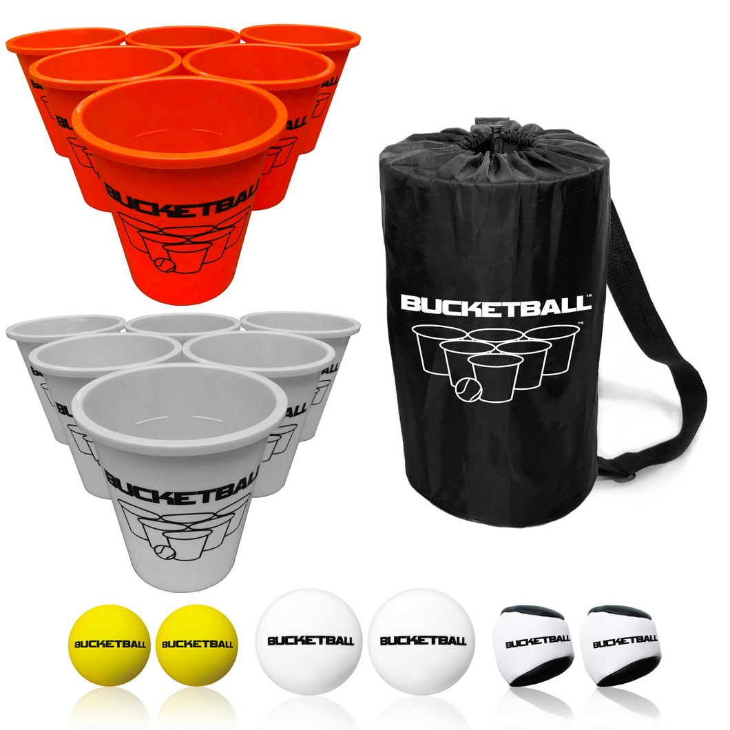 BucketBall - Team Color Edition - Combo Pack (Orange/Silver) - BucketBall