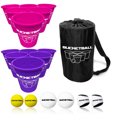 BucketBall - Team Color Edition - Combo Pack (Pink/Purple) - BucketBall