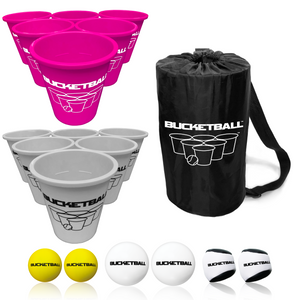 BucketBall - Team Color Edition - Combo Pack (Pink/Silver) - BucketBall