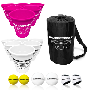 BucketBall - Team Color Edition - Combo Pack (Pink/White)