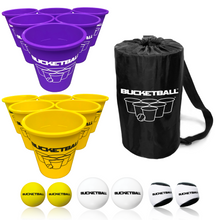 BucketBall - Team Color Edition - Combo Pack (Purple/Yellow) - BucketBall