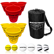 BucketBall - Team Color Edition - Combo Pack (Red/Yellow) - BucketBall