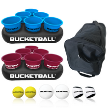 BucketBall - Team Color Edition - Party Pack (Light Blue/Maroon) - BucketBall