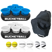 BucketBall - Team Color Edition - Party Pack (Light Blue/White)