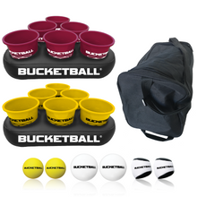 BucketBall - Team Color Edition - Party Pack (Maroon/Yellow) - BucketBall