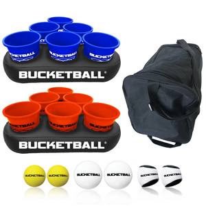 BucketBall - Team Color Edition - Party Pack (Navy Blue/Orange) - BucketBall