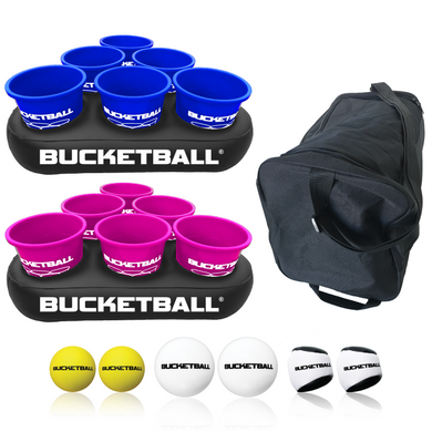 BucketBall - Team Color Edition - Party Pack (Navy Blue/Pink) - BucketBall