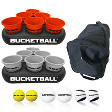 BucketBall - Team Color Edition - Party Pack (Orange/Silver) - BucketBall