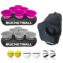BucketBall - Team Color Edition - Party Pack (Pink/Silver) - BucketBall
