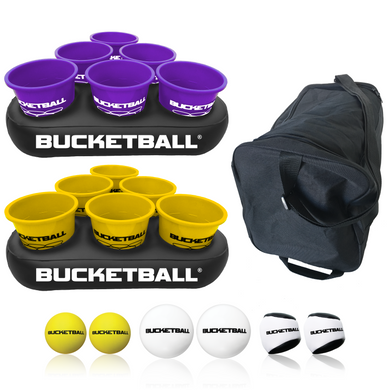 BucketBall - Team Color Edition - Party Pack (Purple/Yellow) - BucketBall