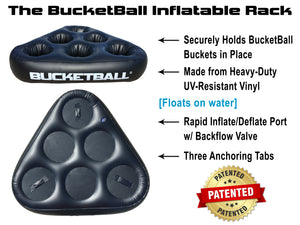 BucketBall™ - Inflatable Rack Set