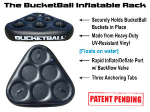 The BucketBall Inflatable Rack Overview