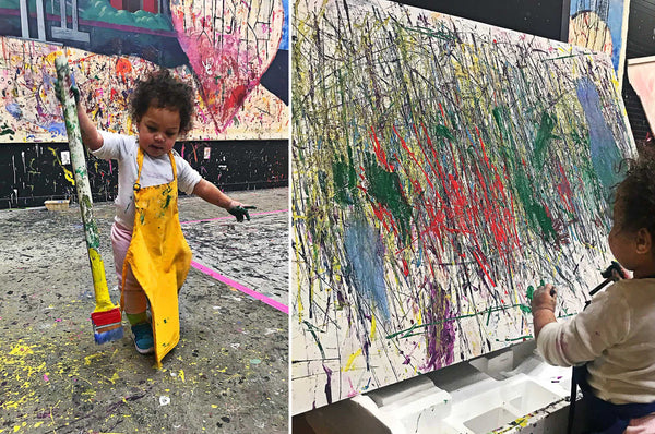 Under 2 Sensory Art Workshop