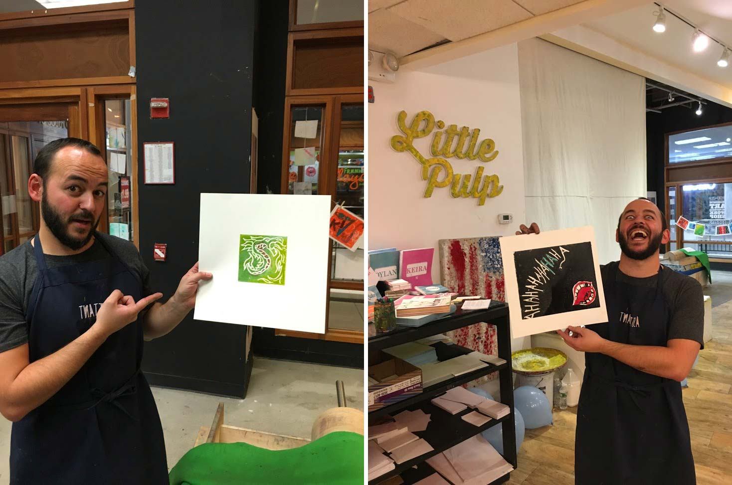print night, adults paint night, art studio