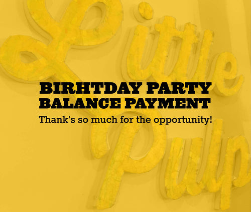 Birthday party balance