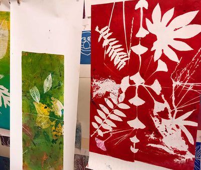 Watercolor Flower Painting & Printmaking, Sunday APR 7