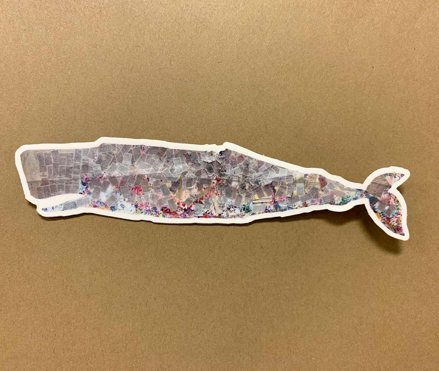 Harriet the Whale sticker