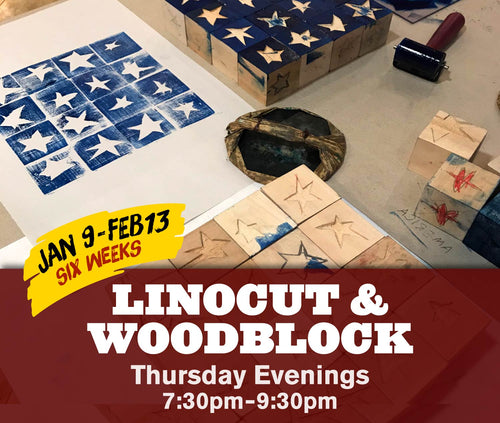 Learn Linocut & Woodblock