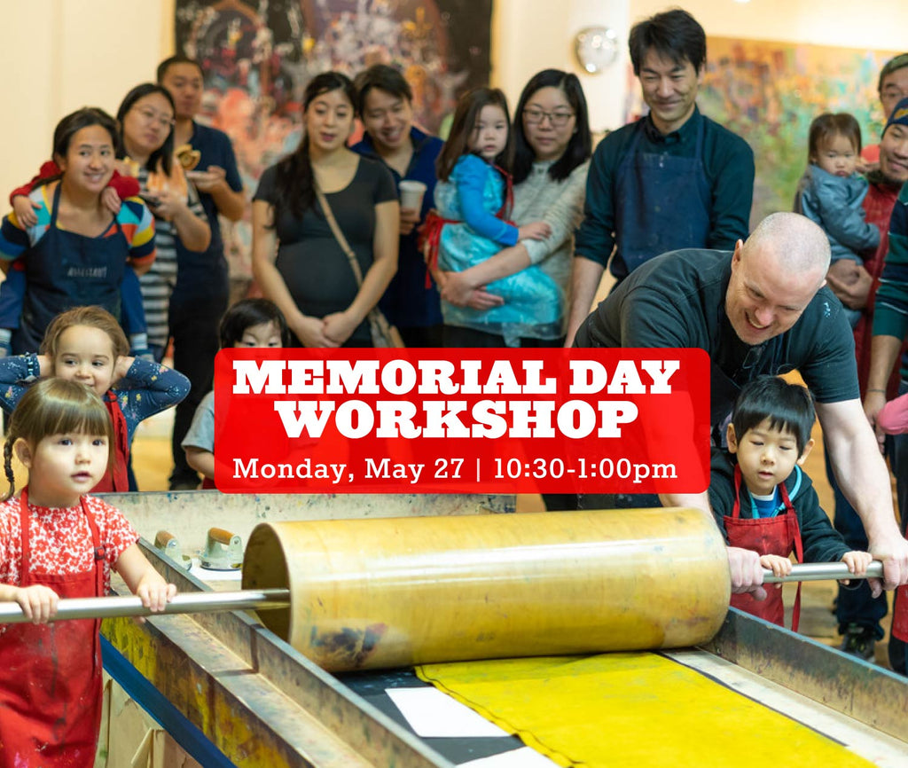 Memorial Day Workshop, Monday, MAY 27