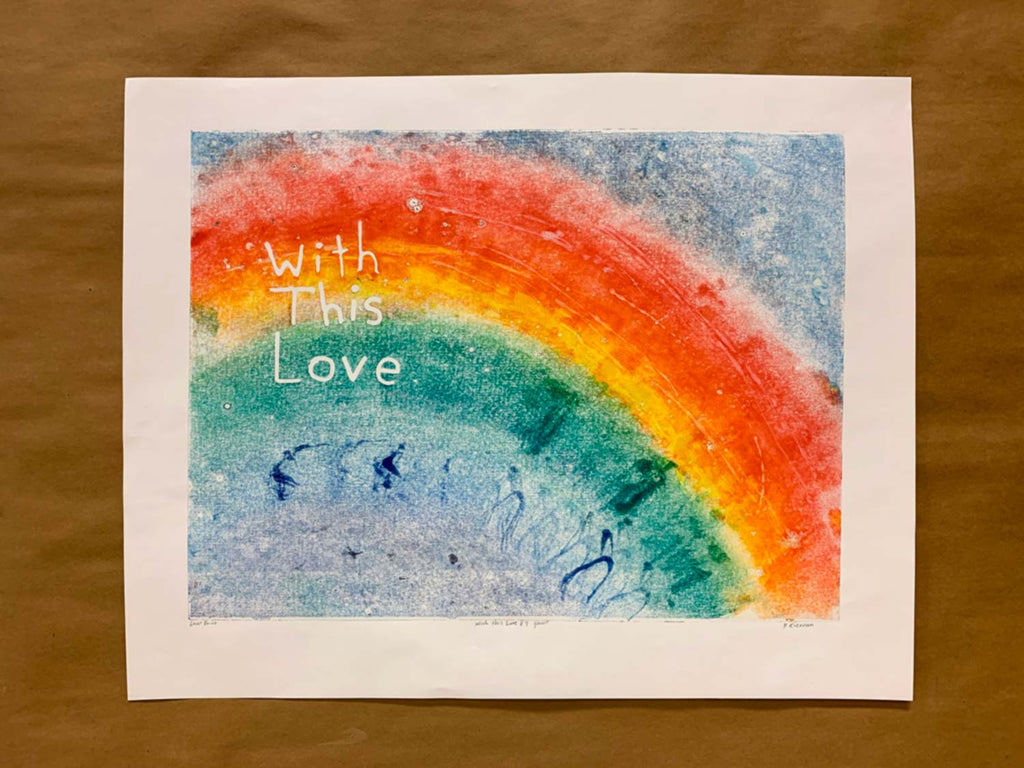 With this Love No. 7 - Ghost Print