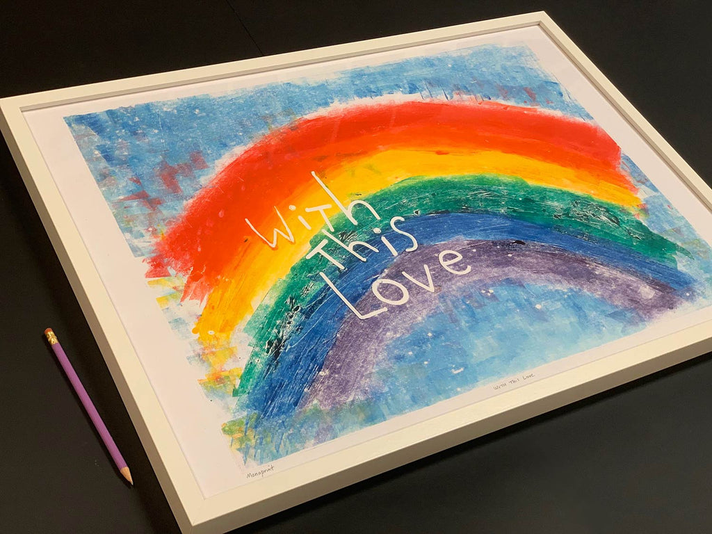 Rainbow Print With this Love