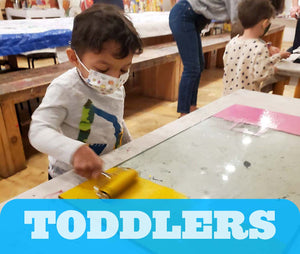 Sensory Art for Toddlers, Saturdays 9:30-11:00am