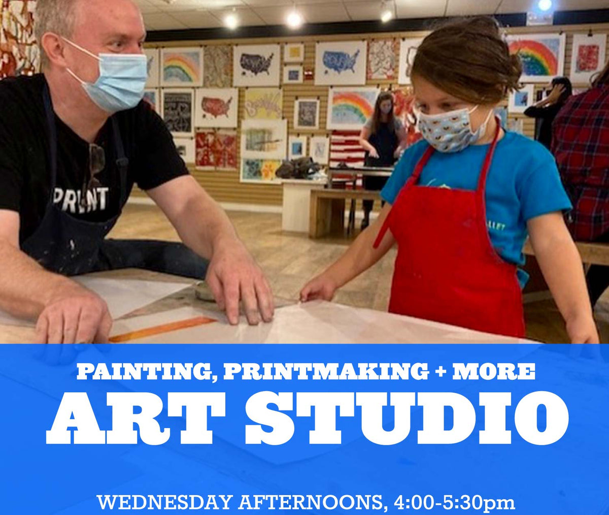 Art Studio at Little Pulp, Wednesdays 4:00-5:30pm