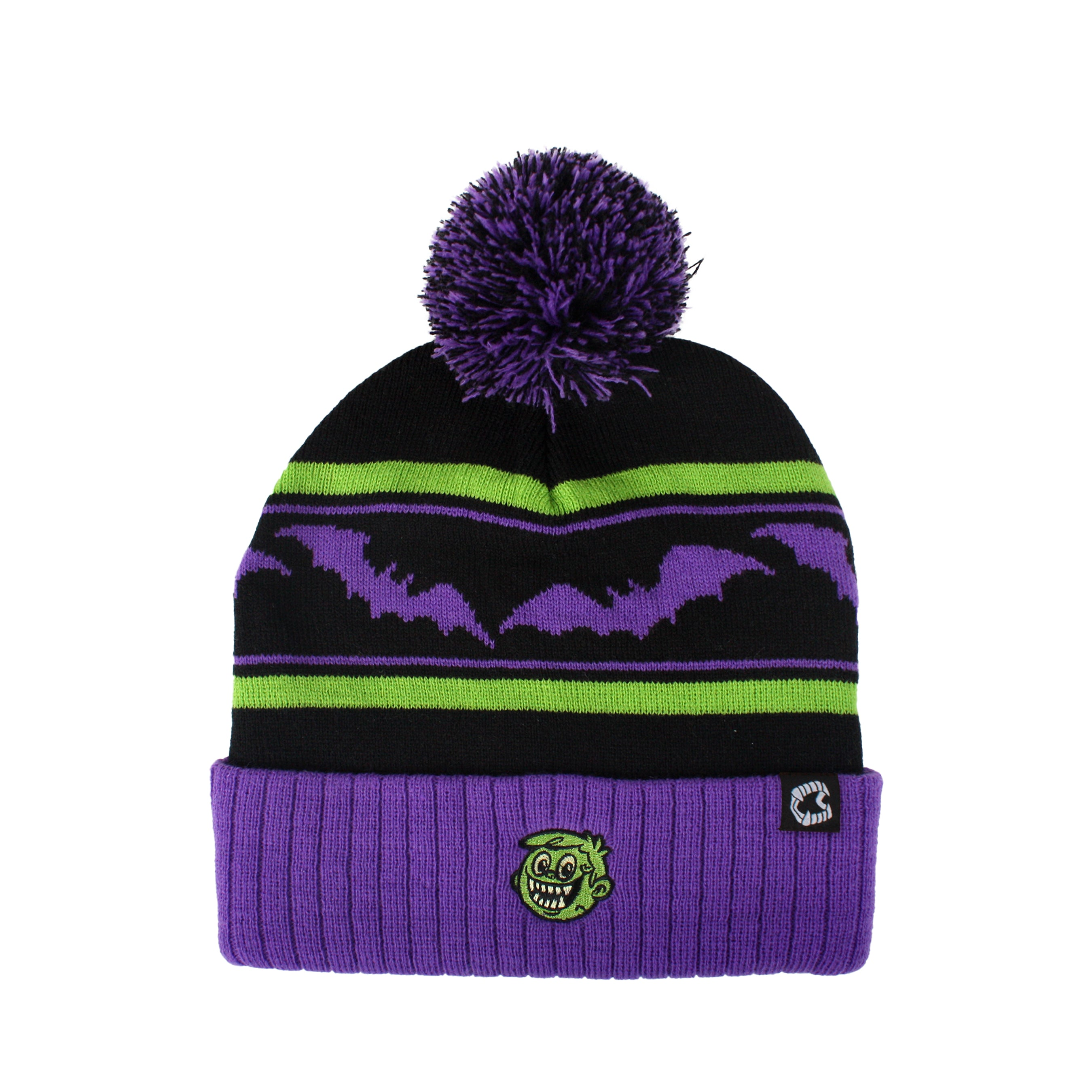 Bosco Bloodworth Pom Beanie