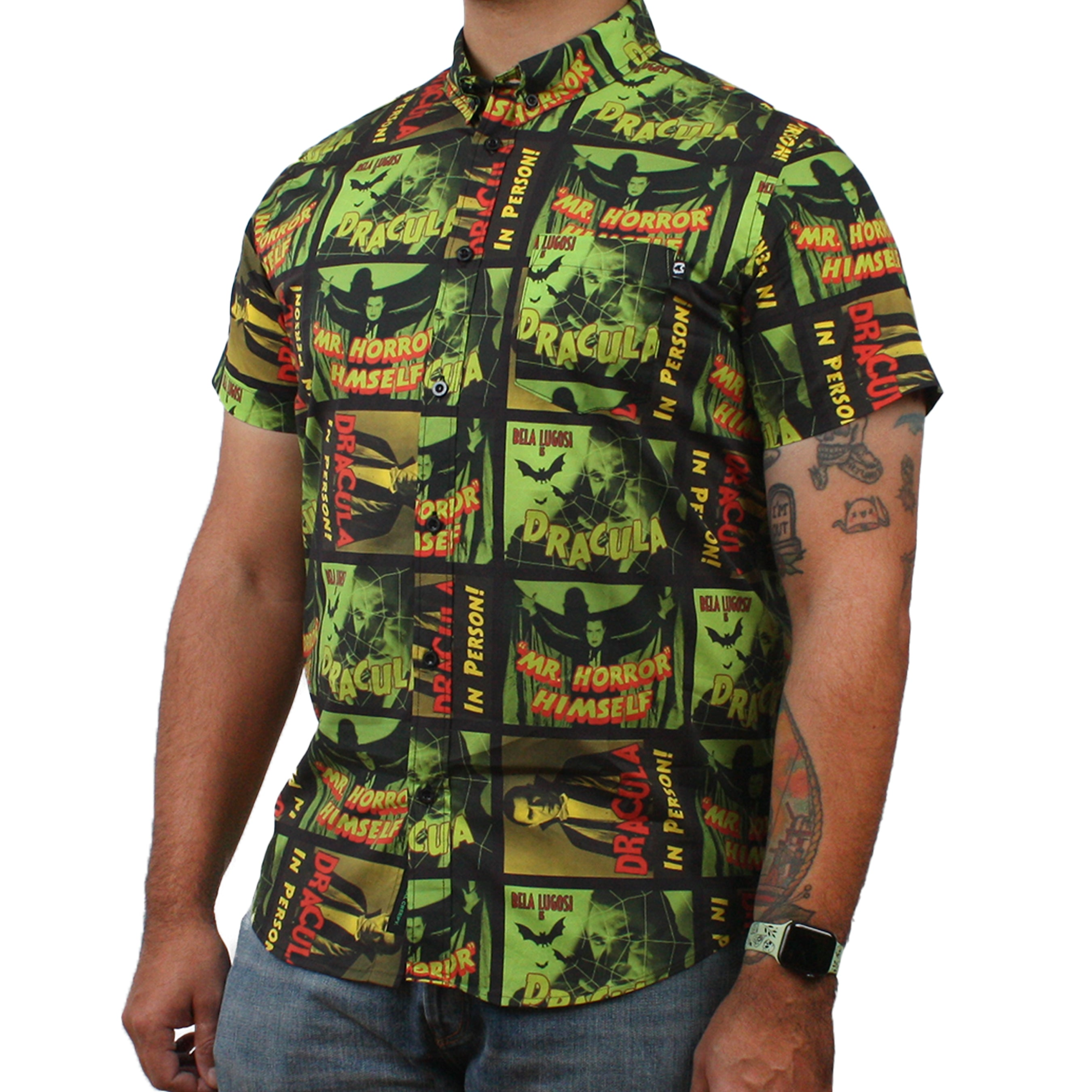 Mr. Horror Button-Up Shirt