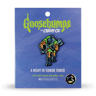 Goosebumps® Terror Tower Enamel Pin