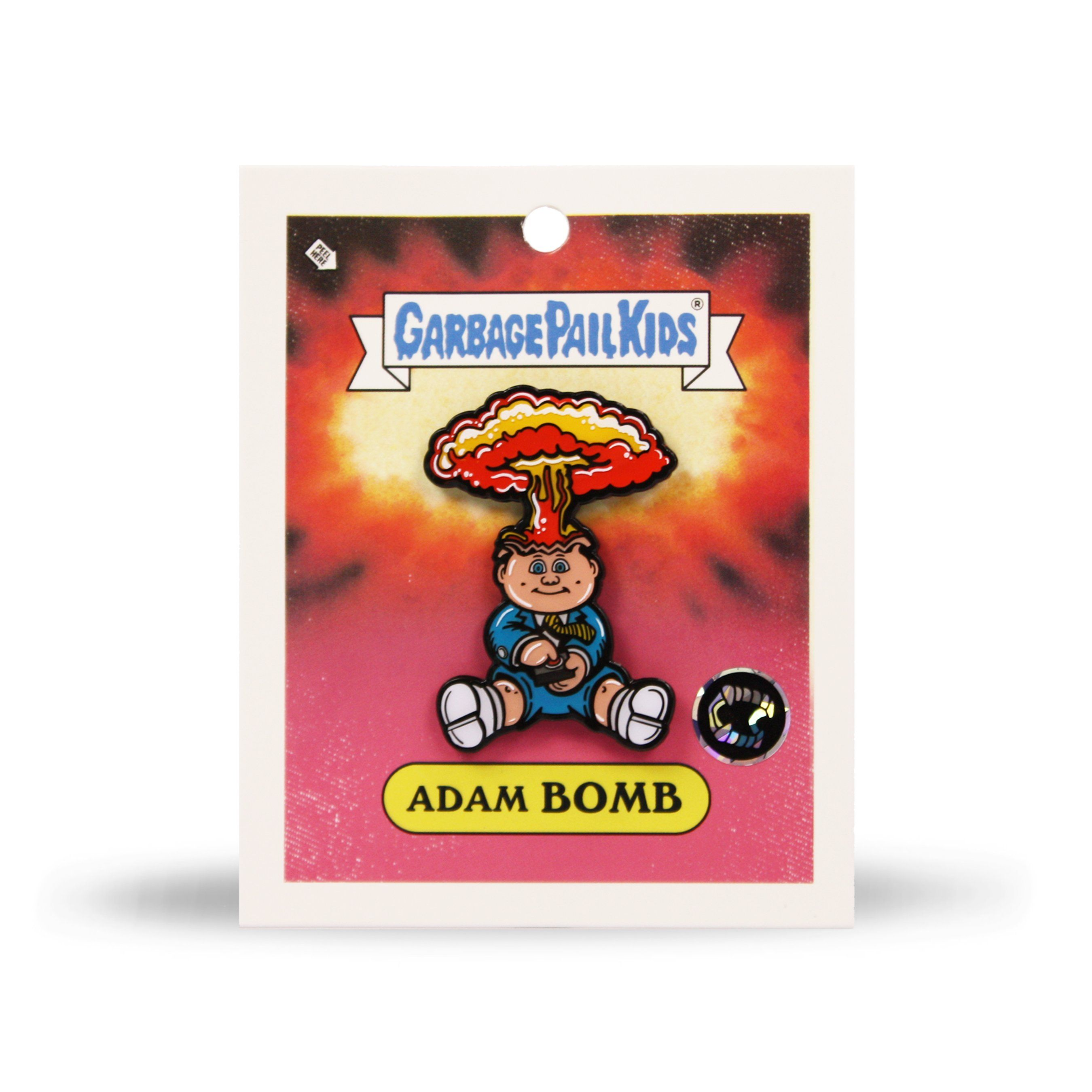 Garbage Pail Kids® Adam Bomb Enamel Pin - Creepy Co.
