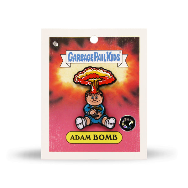 Garbage Pail Kids 174 Adam Bomb Enamel Pin Creepy Co