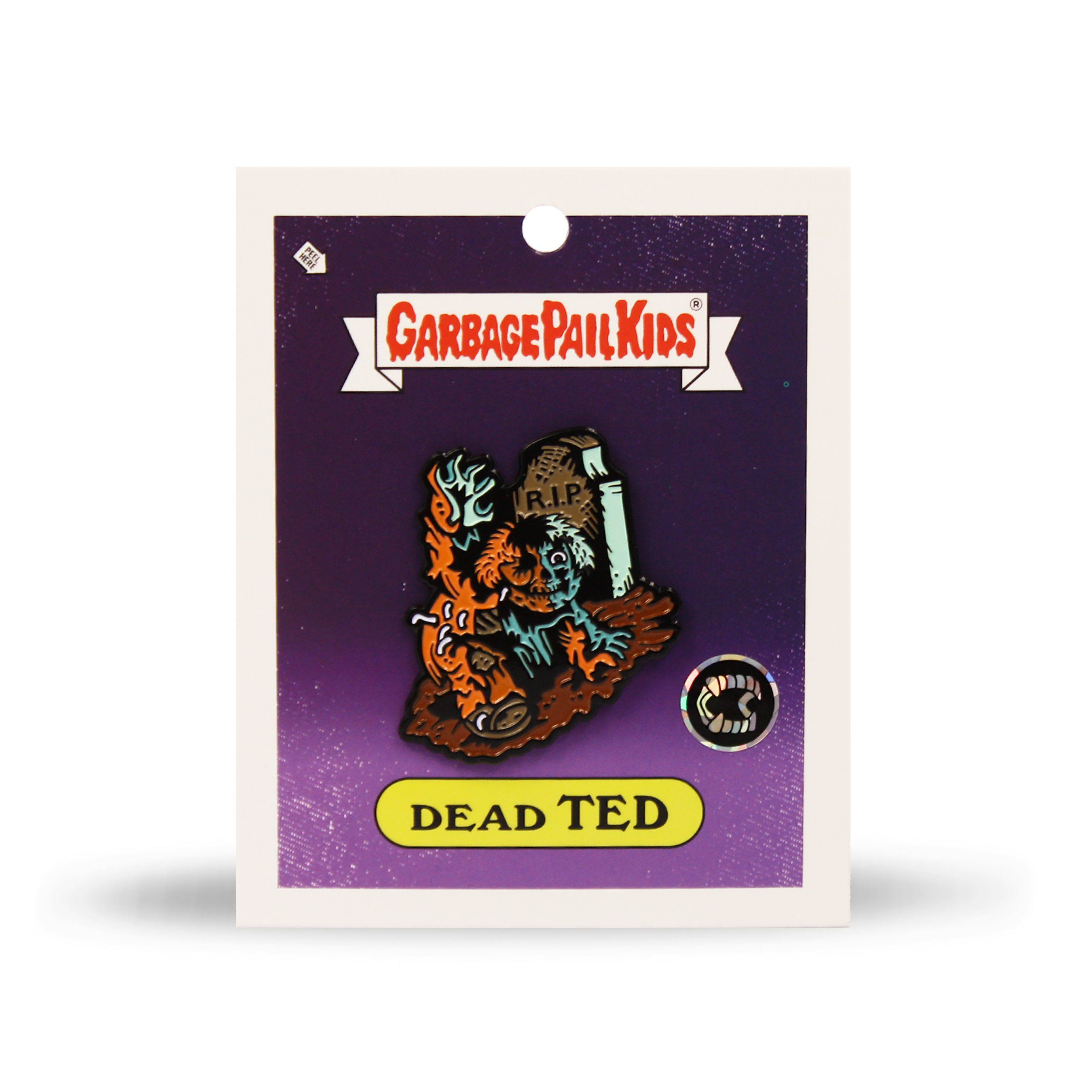 Garbage Pail Kids® Dead Ted Enamel Pin - Creepy Co.