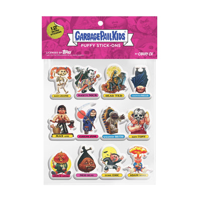 Garbage Pail Kids® Puffy Stick-Ons: Series 1 - Creepy Co.