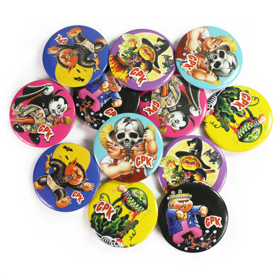 Garbage Pail Kids™ 6-Button Set: Series 1 - Creepy Co.
