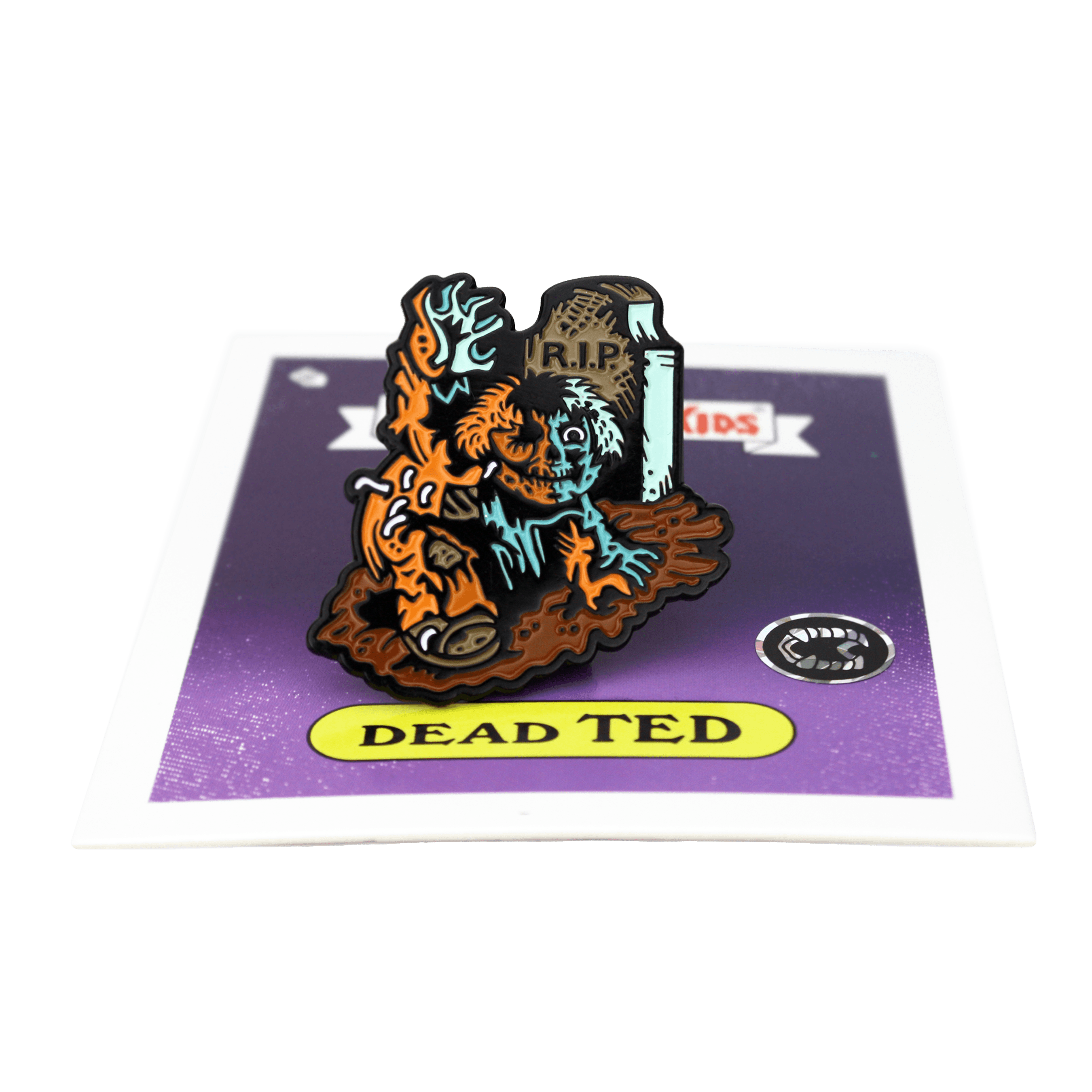 Garbage Pail Kids® Dead Ted Enamel Pin