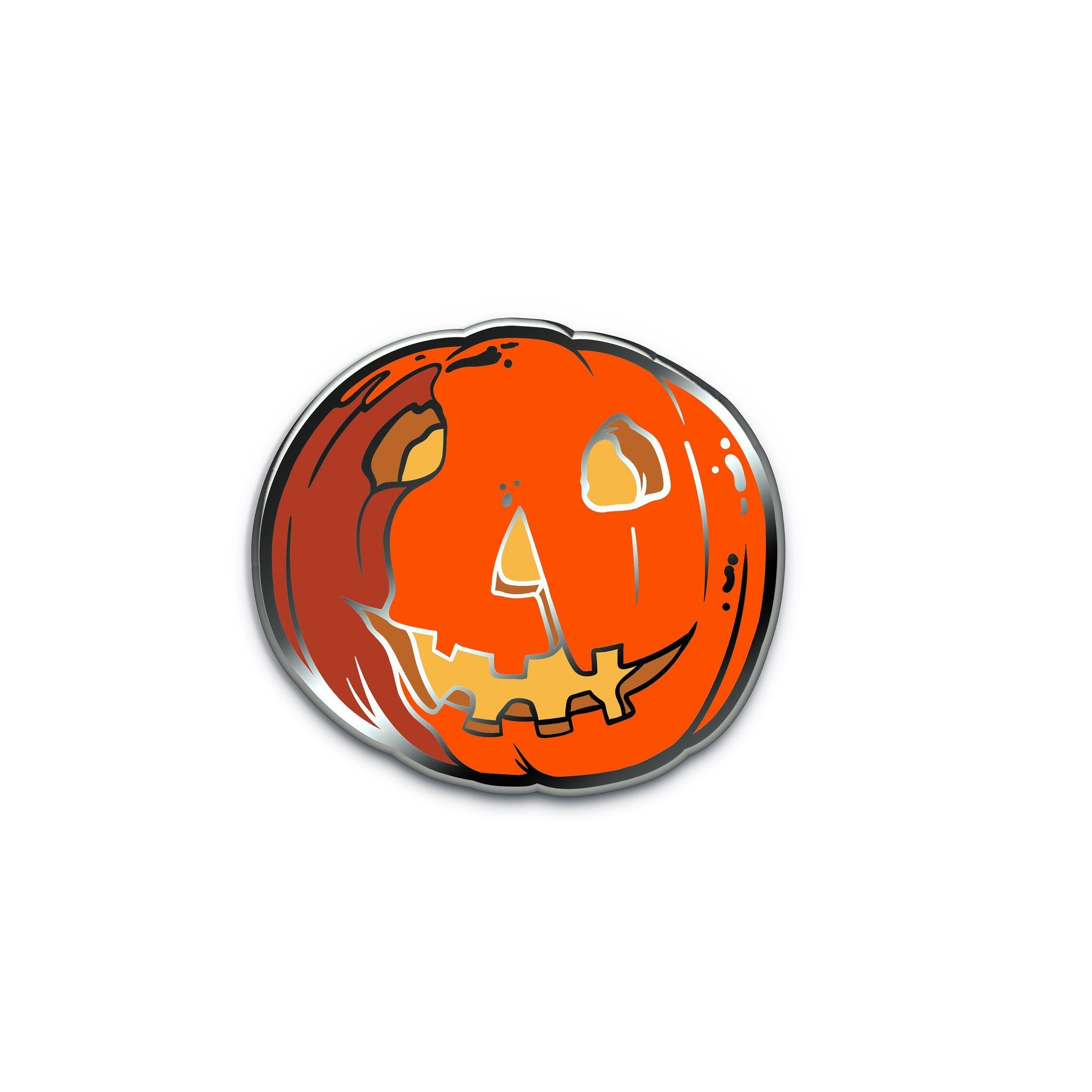Halloween® Jack-O-Lantern Enamel Pin - Creepy Co.