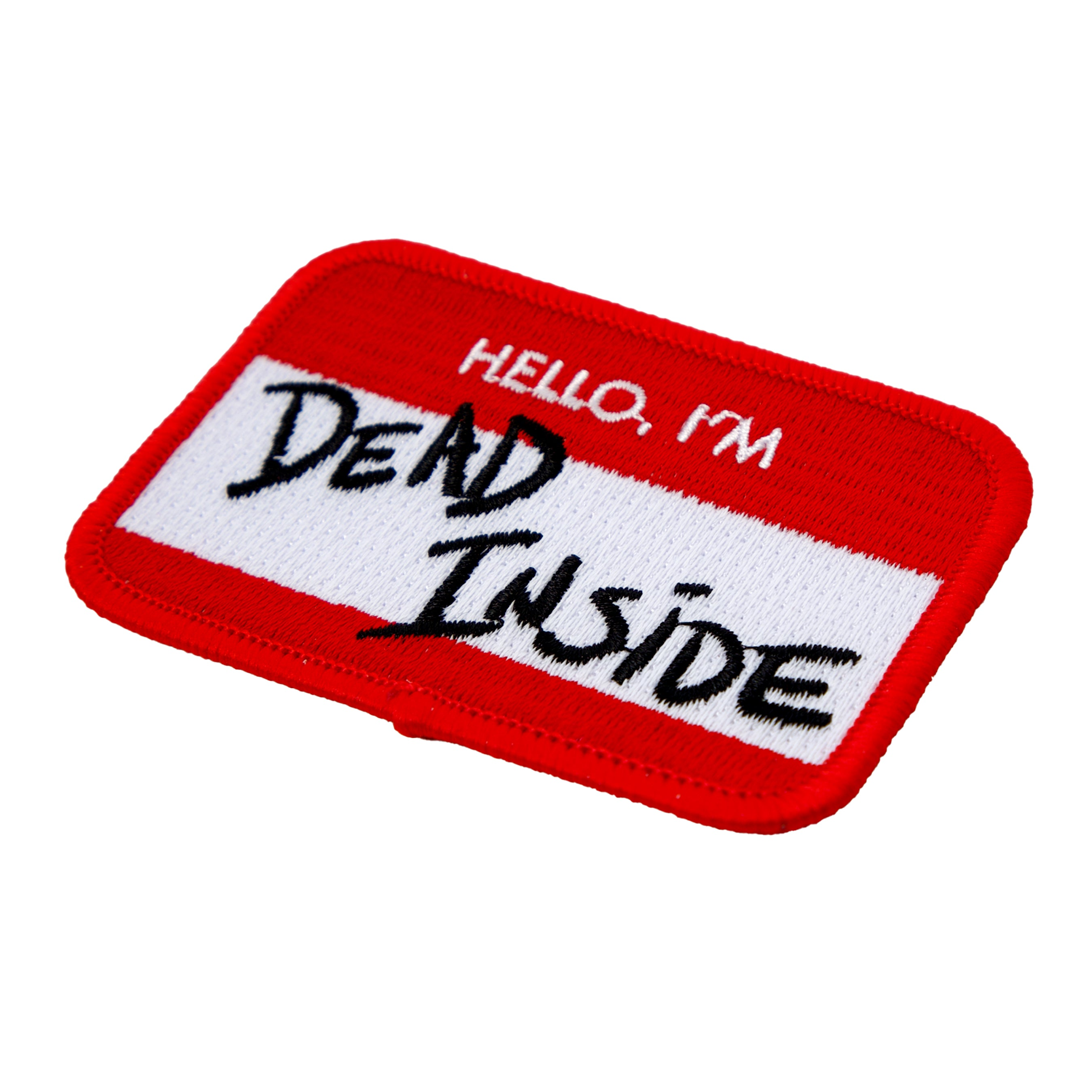 Dead Inside Embroidered Patch