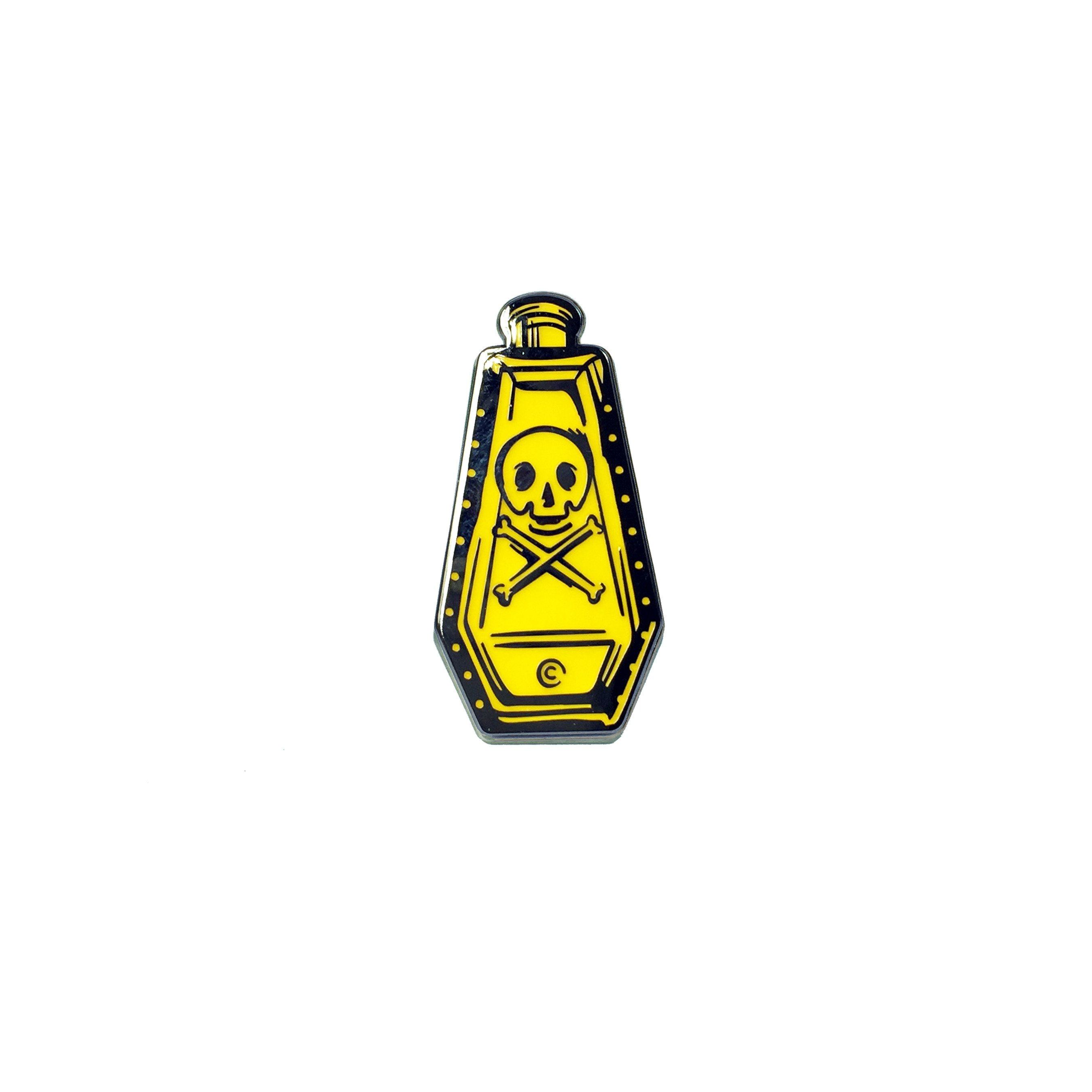 Replica Poison Bottle Enamel Pin Bundle - Creepy Co.