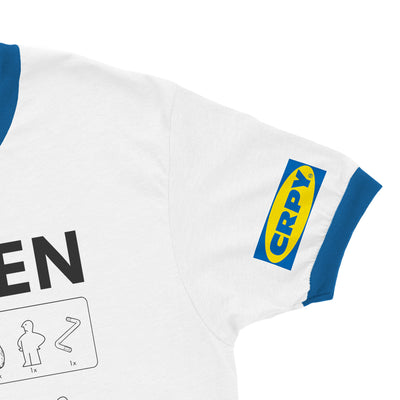No One Can Hear You Swede Ringer Tee