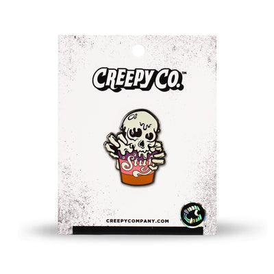 Alien Ice Cream Enamel Pin (2016)