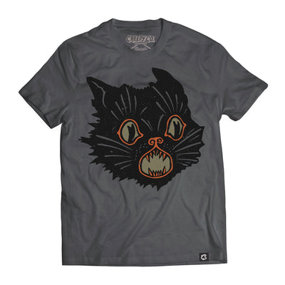 Beistle® Gray Scratch Cat Tee